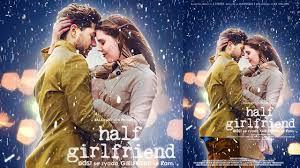 Romantic Movie Poster Half Girl Friend Romantic Movies Poster Design Tutorial 2017