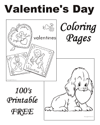 So print out free printable valentines day coloring pages online and give them to your child for some quick valentine's day fun. Valentine S Day Coloring Pages Free And Printable