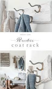 Anderson Coat Rack Unique DIY Rustic Coat Rack Makeover Diy Coat Rack Coat Racks And