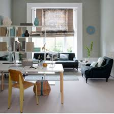 open space home office. in an openplan living roomoffice space shelving thatu0027s accessible from both sides makes a functional room divider those without dedicated home office open g