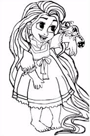 Kleurplaat Rapunzel 39 Best Coloring Pages Tangled Images On