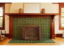 craftsman fireplace surround and tile 1915 craftsman portland or 2 100 000