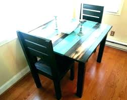 distressed dining room table and chairs stressed ning room table and chairs white set black wood