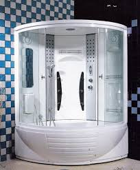 shower with tub in an enclosure variants of bathtub