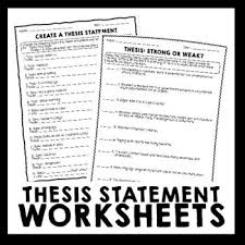Writing A Thesis Statement If Your Students Need Extra Practice Writing Thesis Statements This