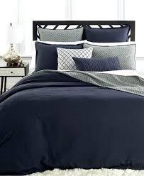 um image for hotel collection linen navy duvet covers duvet covers bed bath macys hotel collection