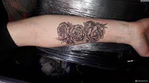 татуировка тату на руке пионы отзывы покупателей