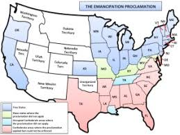 civil war emancipation proclamation u s history maps  civil war emancipation proclamation