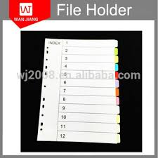tab index cards high quality pp plastic index cards tab dividers cheap file index