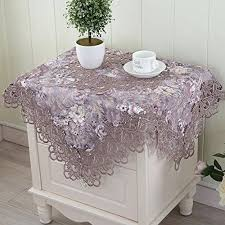 side tables bedside table runners cloth round tea cover runner refrigerator towel b bedside table runners