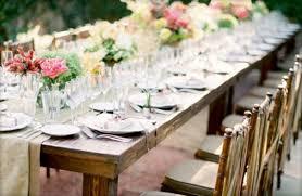 Great Outdoor Wedding Table Settings Wedding Outdoor Wedding Table Settings