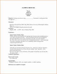 Teenage Resume Sample Inspirational Sample Teen Resume Resume
