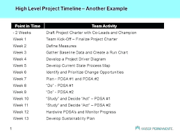 Draft Project Plan Template