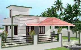 roof idea small modern house plans flat roof floor home design with sloping single villa tiny