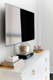 How To Cover Wires How To Hide Unsightly Electronics And Cords The Everygirl