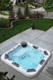 in ground hot tubs