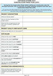 New Construction Risk Assessment Template Medium Size Large Draw ...
