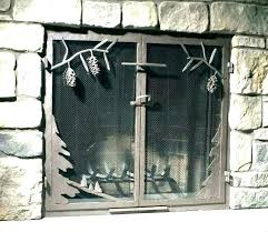 fireplace screen and glass doors free standing fireplace screens glass fireplace screen fireplace screens and doors fireplace screen and glass doors