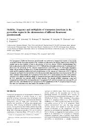 Microbiology Society Journals | Stability, Frequency And ...