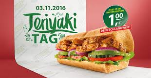 subway teriyaki tag 2016