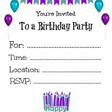 Kids Party Invitation Template Invitation Cards Maker Online Free