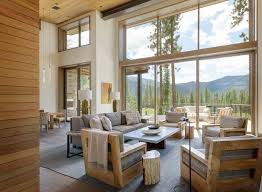 breathtaking modern mountain retreat with rustic nuances in lake tahoe contemporary homes interior n57 contemporary