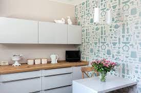 Airfix Kitchen Wallpaper in Duck Egg ...