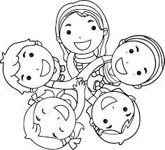 Small Picture Friends Coloring Pages coloringsuitecom