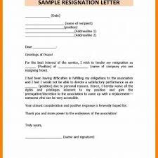 Resignation Letter Sample Doc For Teachers Archives