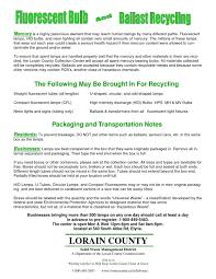 Fluorescent Light Fixture Sizes Fluorescent Bulb Ballast Recycling By Lorain County Ohio