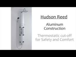 hudson reed thermostatic shower panel