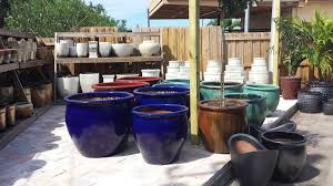 large ceramic pots and planters