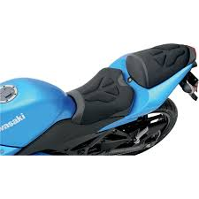 saddlemen gel channel sport bike seat tech for zx14r 06 16