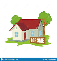 New Home Cartoon Images Cartoon Sweet Home For Sale Cute And New Design Stock