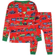 Designer Christmas Pajamas Hatley Boys Magical Christmas Train Pyjamas Nightwear