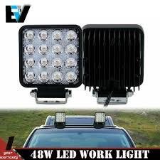 Truck Work Lights Car Truck Fog Driving Lights 2x 4inch 48w Led Spot Cube