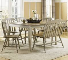 Light Wood Dining Table Chairs X Dining Room Set W Bench In Light Wood Antique On Sale Online