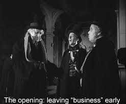 norman holland on brian desmond hurst s a christmas carol orscrooge leaving business early