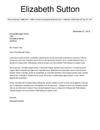 Ideas Collection Executive Housekeeper Cover Letter For