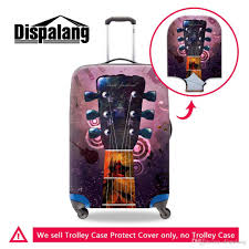 Design Your Own Suitcase Online Case For A Suitcase Thicker Elastic Stretch Luggage Protective Cover For 18 30 Inch Trolley Children Personalized Design Guitar Piano Covers