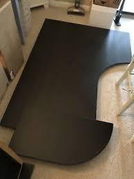 ikea galant office desk. IKEA GALANT Corner Computer Office Desk (Right) BROWN + Legs \u0026 Quarter  Round Ext Ikea Galant Office Desk S