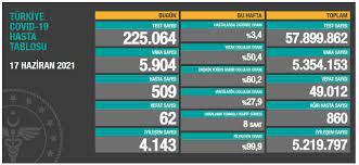 Koronavirüs Haberleri: Türkiye'nin 23 Haziran koronavirüs tablosu  açıklandı: İşte o rakamlar... - Yeni Şafak