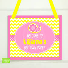 pink welcome pink lemonade welcome sign with envy studios