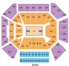 Chicago Bulls Seating Chart Rows Wintrust Arena Seating Chart Chicago