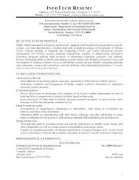 It Security Analyst Resume Sample Security Resume Sample Resume