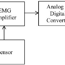 block diagram of emg acquisition system scientific diagram block diagram of emg acquisition system