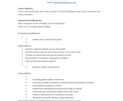 Free Nurse Resume Template. Nursing Resume Template Word ...