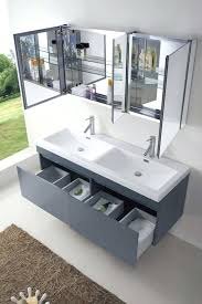 55 inch double sink vanity inch wall mounted double sink grey bath vanity 55 inch bathroom