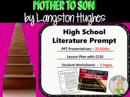 ml essay langston hughes mother son langston hughes poems langston hughes poetry langston hughes s mother