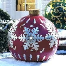Large Plastic Christmas Bell Decorations Extraordinary Large Plastic Christmas Ornaments Large Clear Plastic Christmas
